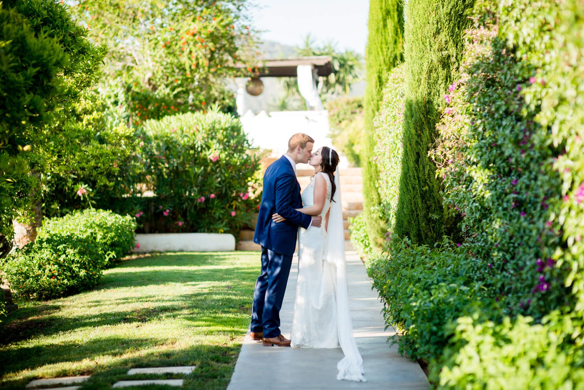Weddings in Ibiza - Helen & Henry