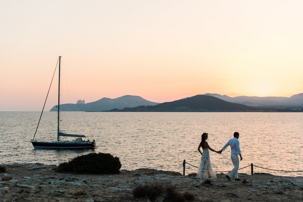Weddings in Ibiza – Vittoria and Reto