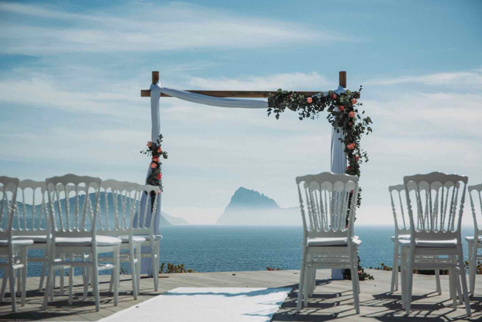 The best seaside wedding venues in Ibiza