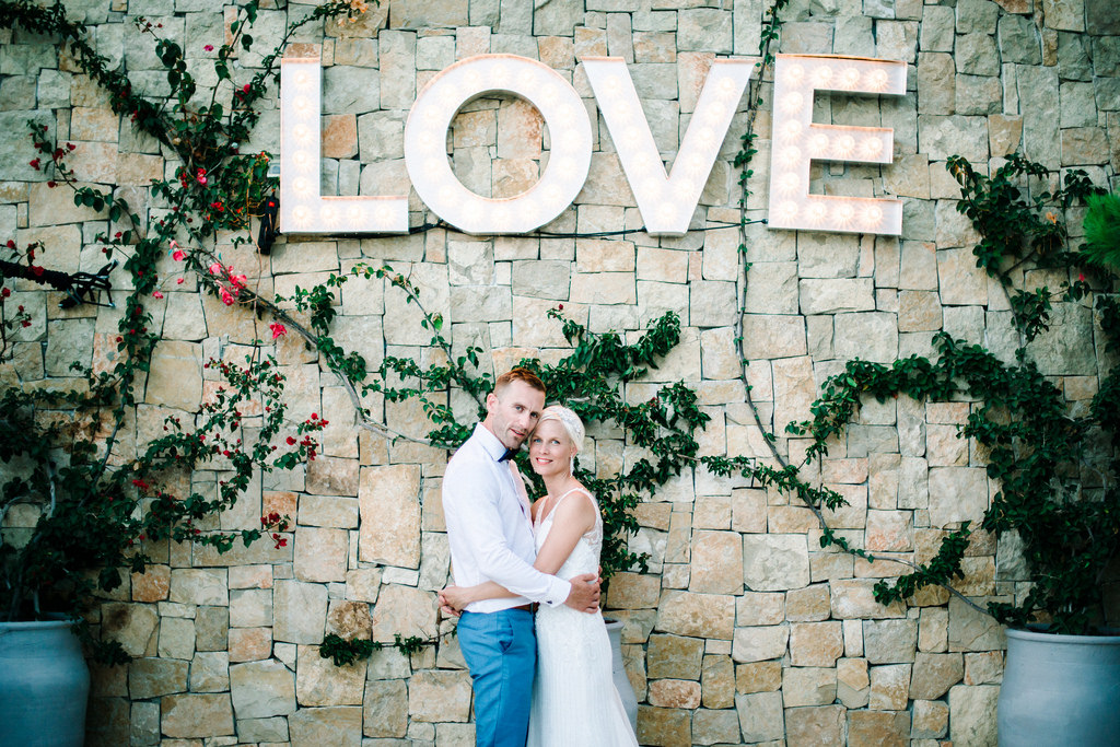 Weddings in Ibiza -  Julie & Rory
